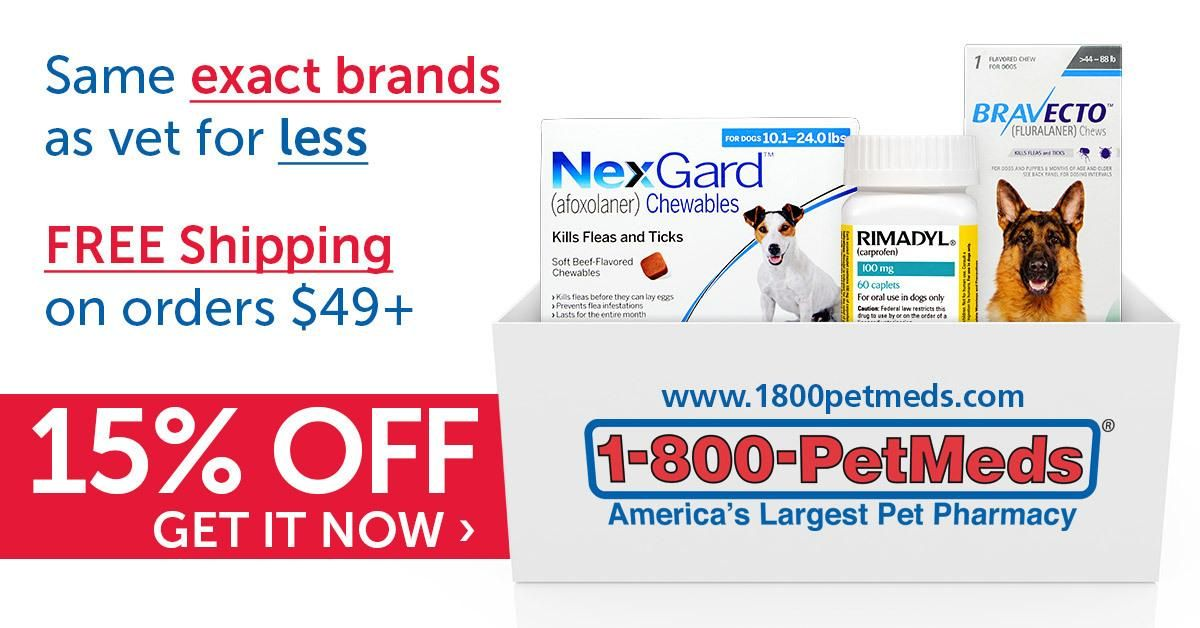 1 800 Petmeds America S Largest Pet Pharmacy Official Site Dog Food Comparison Chart Online Pet Store Dog Dental Cleaning