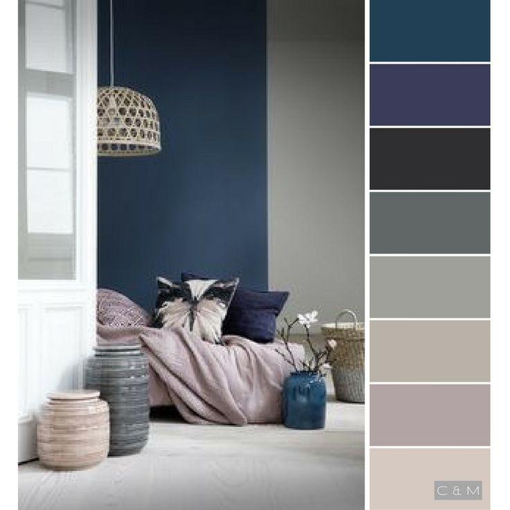 Tolle dunkelblaue Schimmer, um mit welcher Bettdecke mitzuhalten  Tolle dunkelblaue Schimmer, um mit welcher Bettdecke mitzuhalten #masterbedroompaintcolors