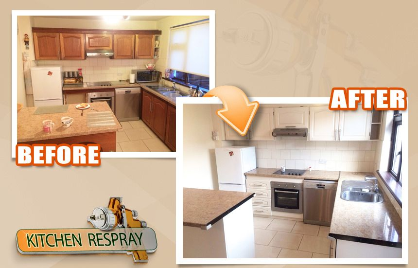 Has your old kitchen lost some of its brightness and appeal? It may be time to consider a renovation project. Getting the kitchen cabinets and other pieces of furniture resprayed is one of the simplest and quickest possibilities for bringing brightness and functionality into the room.