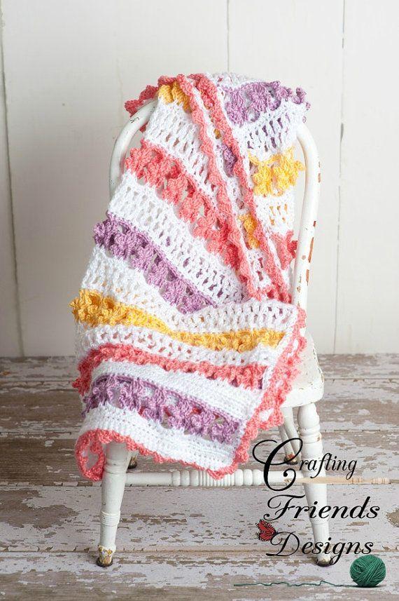 Crochet Pattern Butterfly Garden Afghan $4.95 | Moogly Community ...