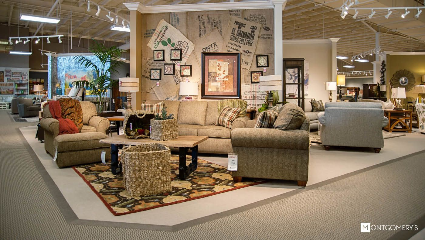 Showrooms Montgomery S Furniture Flooring And Window Fashions In Sioux Falls Madison And