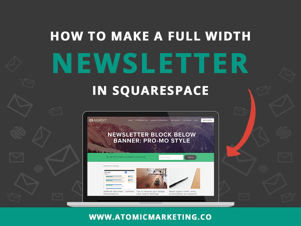 If You'Re Using The Bedford Template For Your Squarespace Website