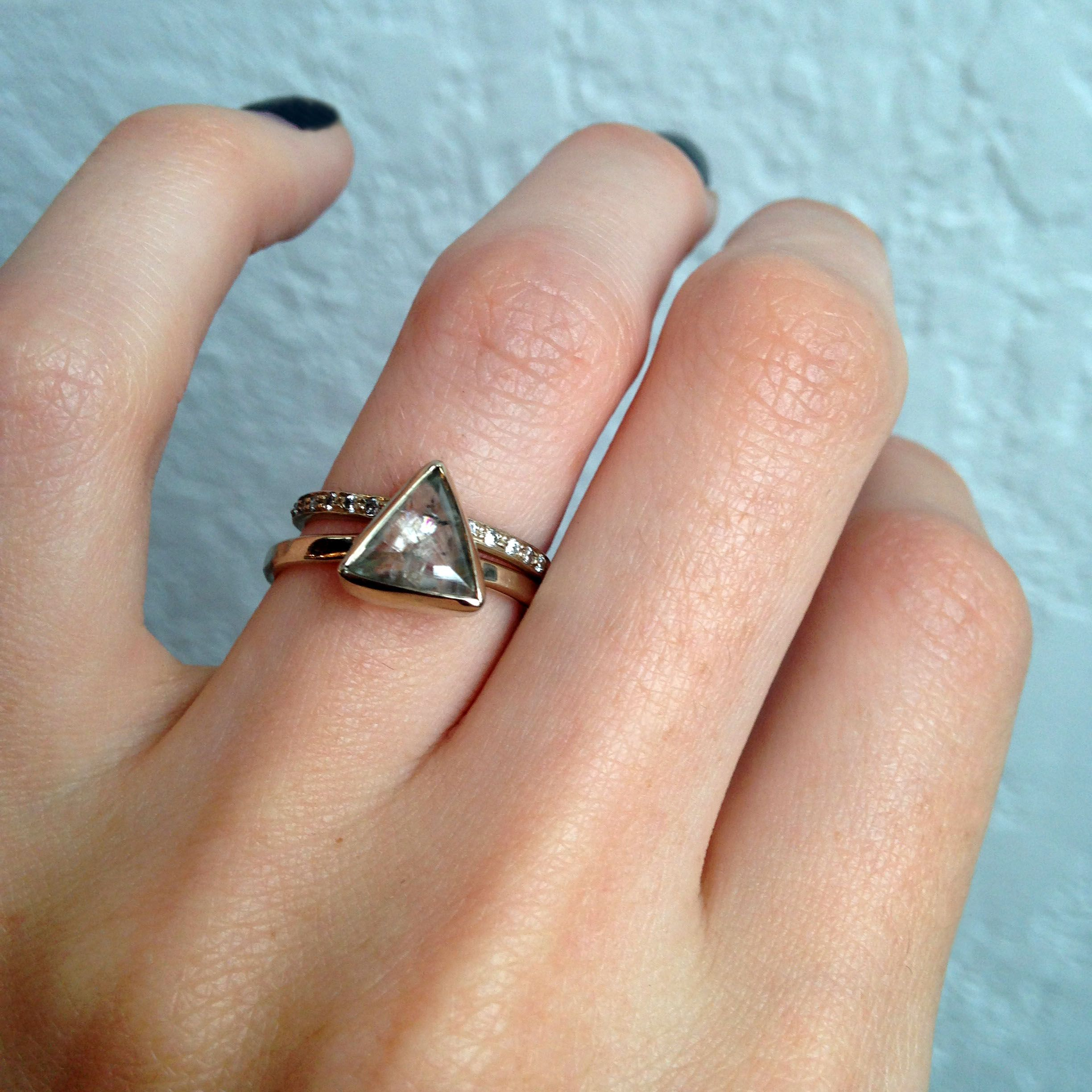 one of a kind engagement rings from melissa joy manning - One Of A Kind Wedding Rings