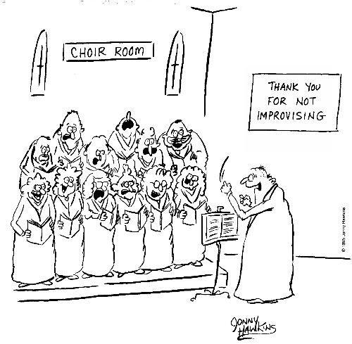 A Little Bit Of Humor With Thechurch Choir Choir Humor Choir Music Jokes