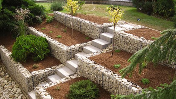Photo of Design   Gitttec wire wall system, #wire wall system #garden design fountain #design …