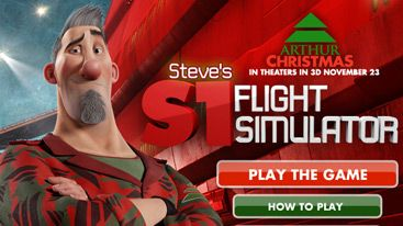 Arthur Christmas Official Movie Site Elf Training Arthur Christmas Flight Simulator Sony Pictures