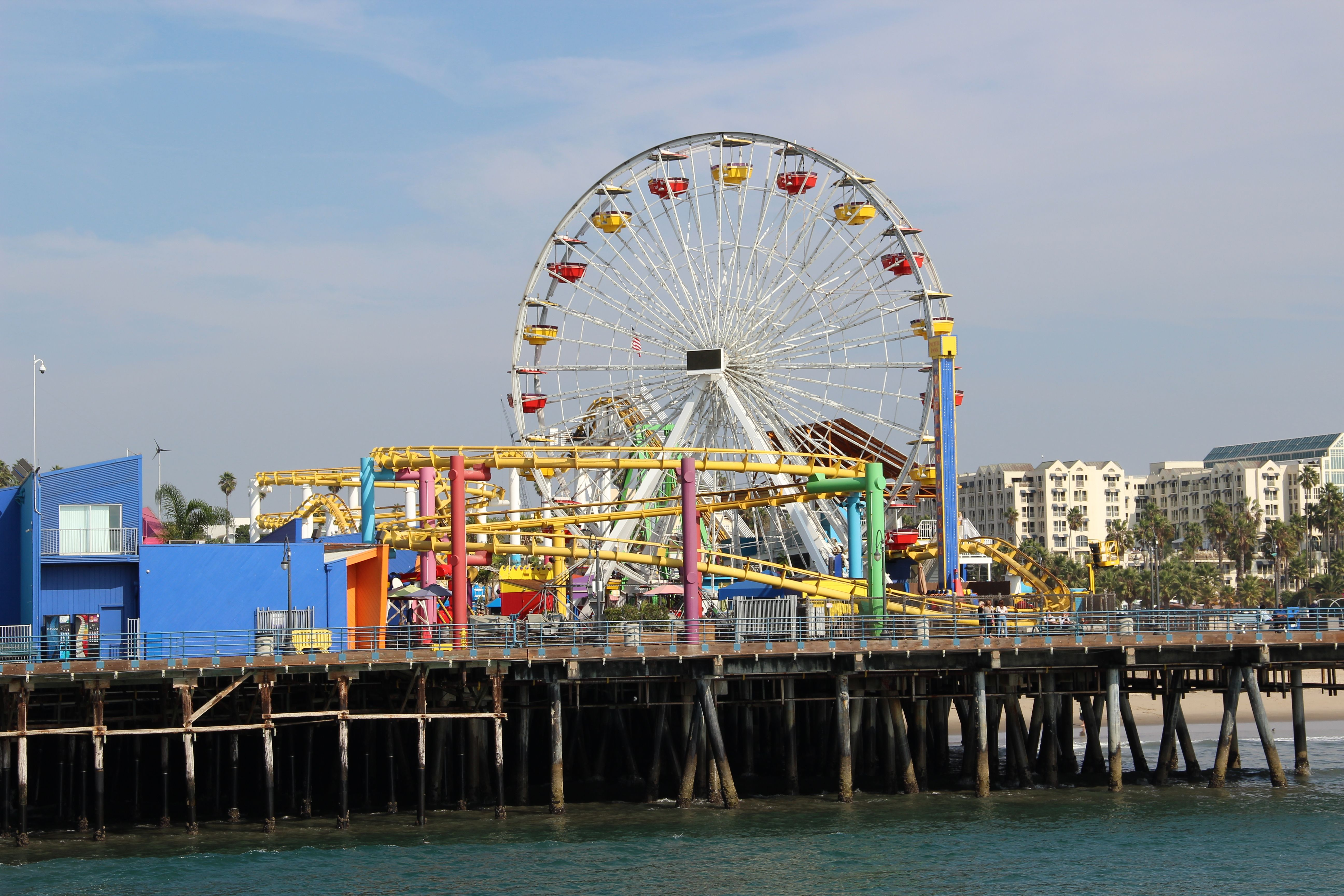 Santa Monica Pier Santa Monica Pier Santa Monica My Travel