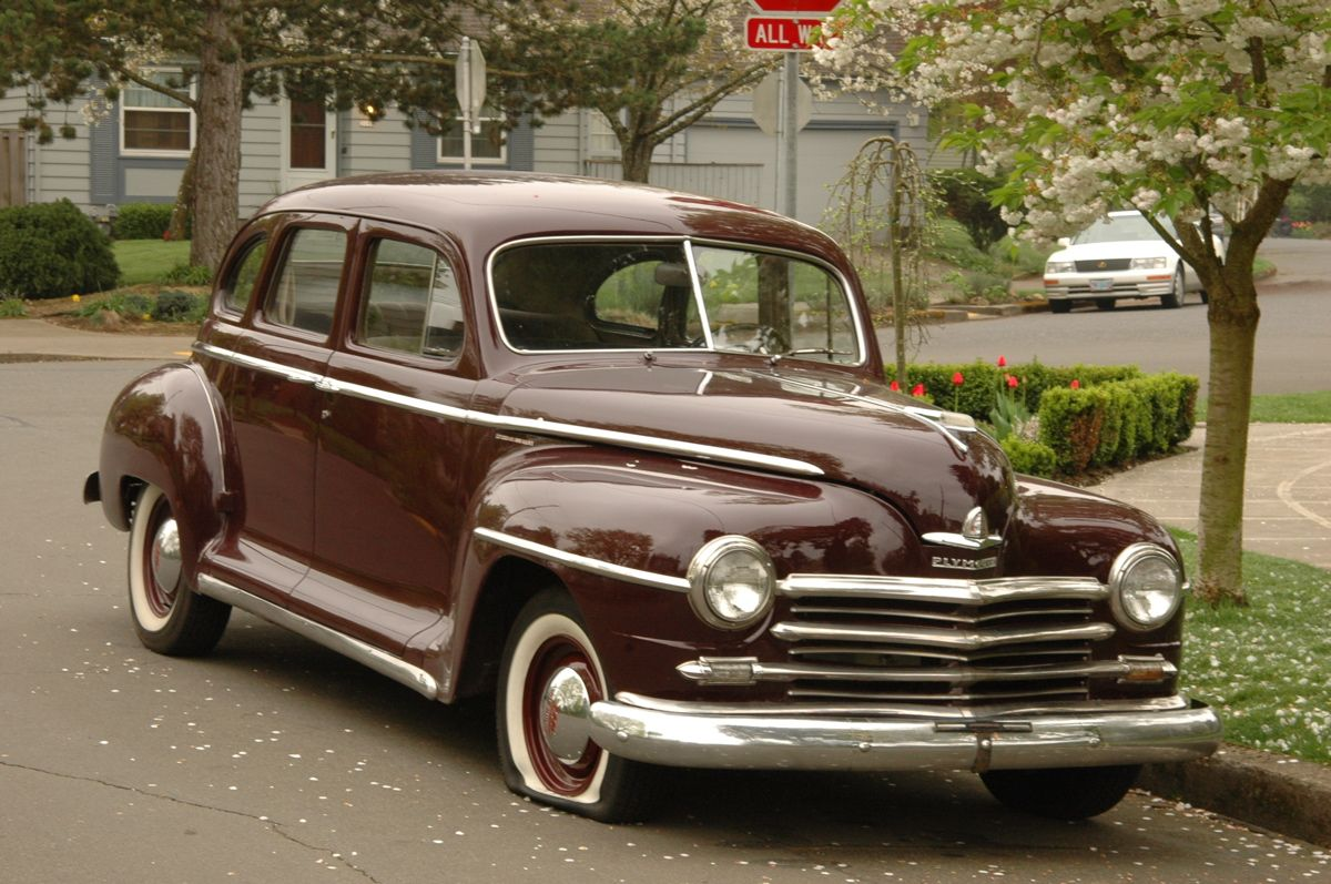 1948 Plymouth was the Brown Bomber which was the Watson\'s Family car ...