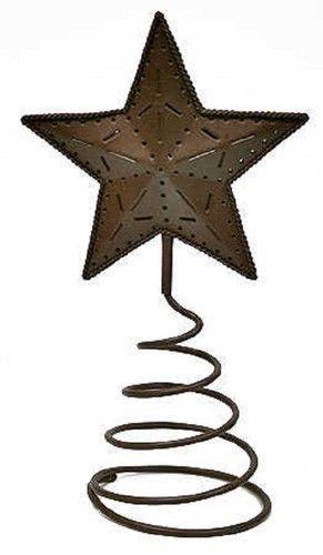 Primitive Rusty Tin Star Tree Topper Primitve Country Home Decor | eBay