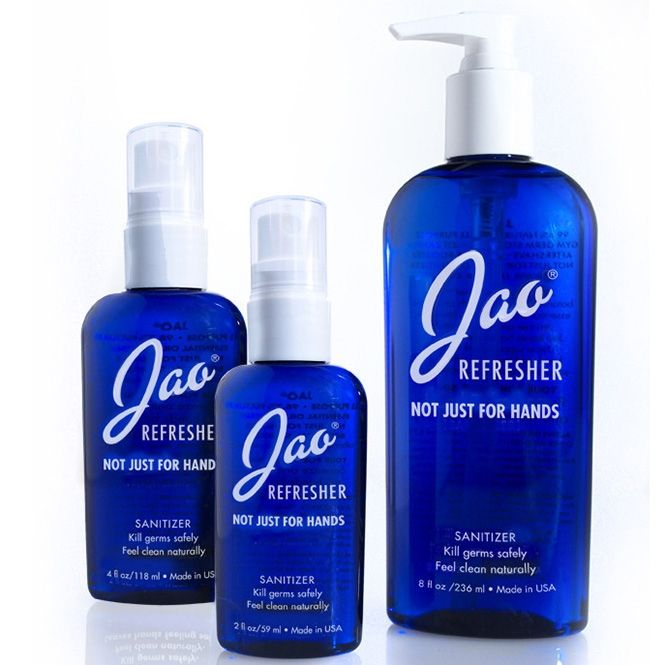 This Hand Sanitizer By Jao Is A Makeup Artists Staple Geranium