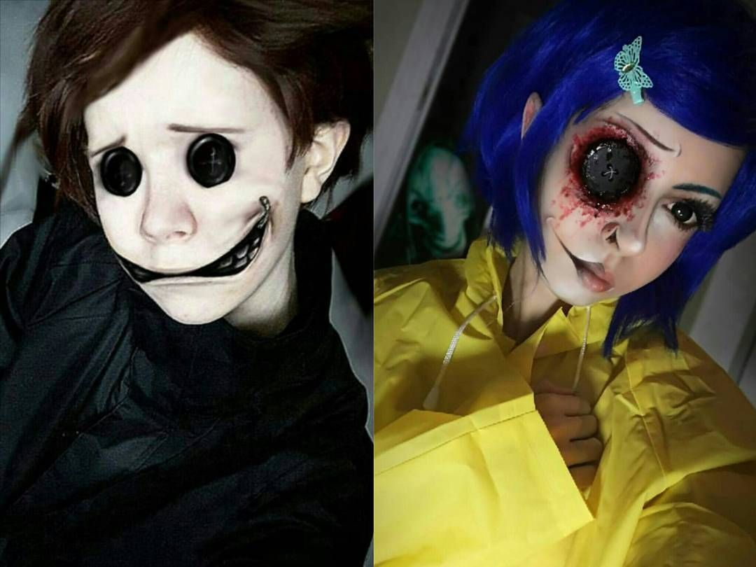 "i am the creeper girl on Instagram: ""Black is traditional. - - - no new content here, just wanted to collab my new coraline with @louistato 's wybie again! � hoping i get the…"""