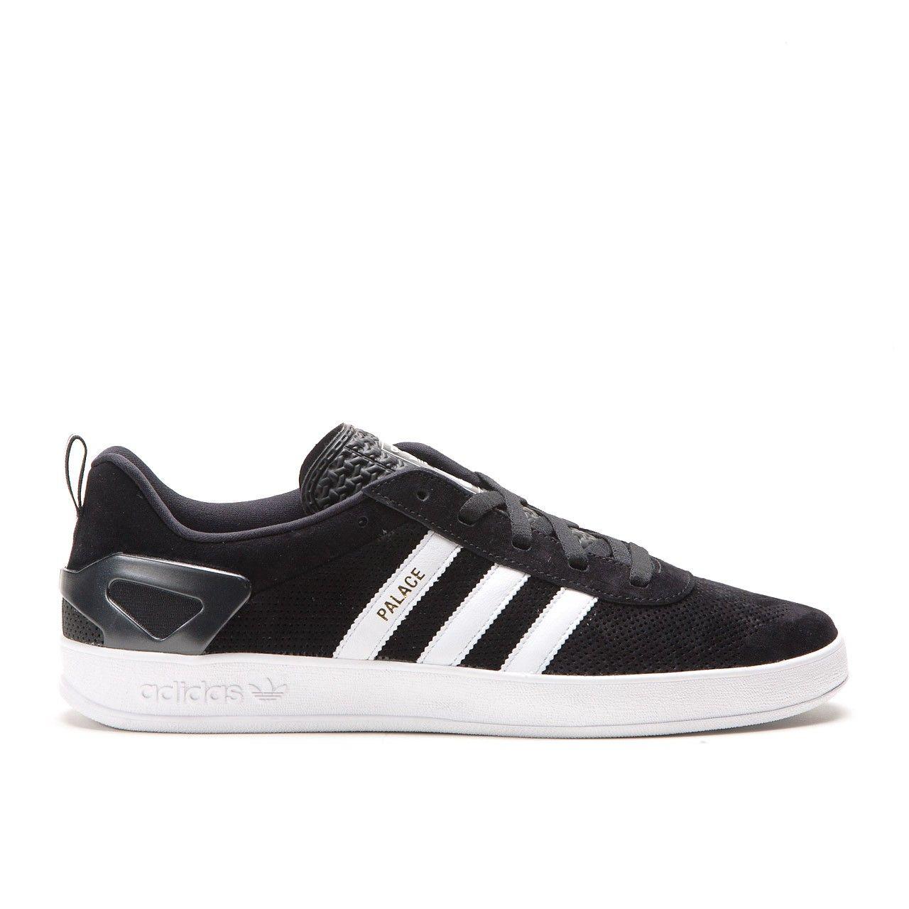 Skate shoes jakarta - Adidas X Palace Pro Core Black Running White