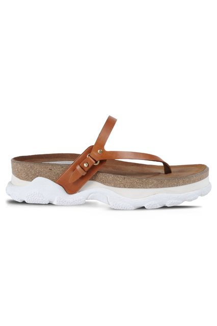 Strap into ultimate foot comfort.Stella McCartney Canyon Slip On Sandals, $790, available at Stella McCartney.  #refinery29 http://www.refinery29.com/flat-sandals#slide-13