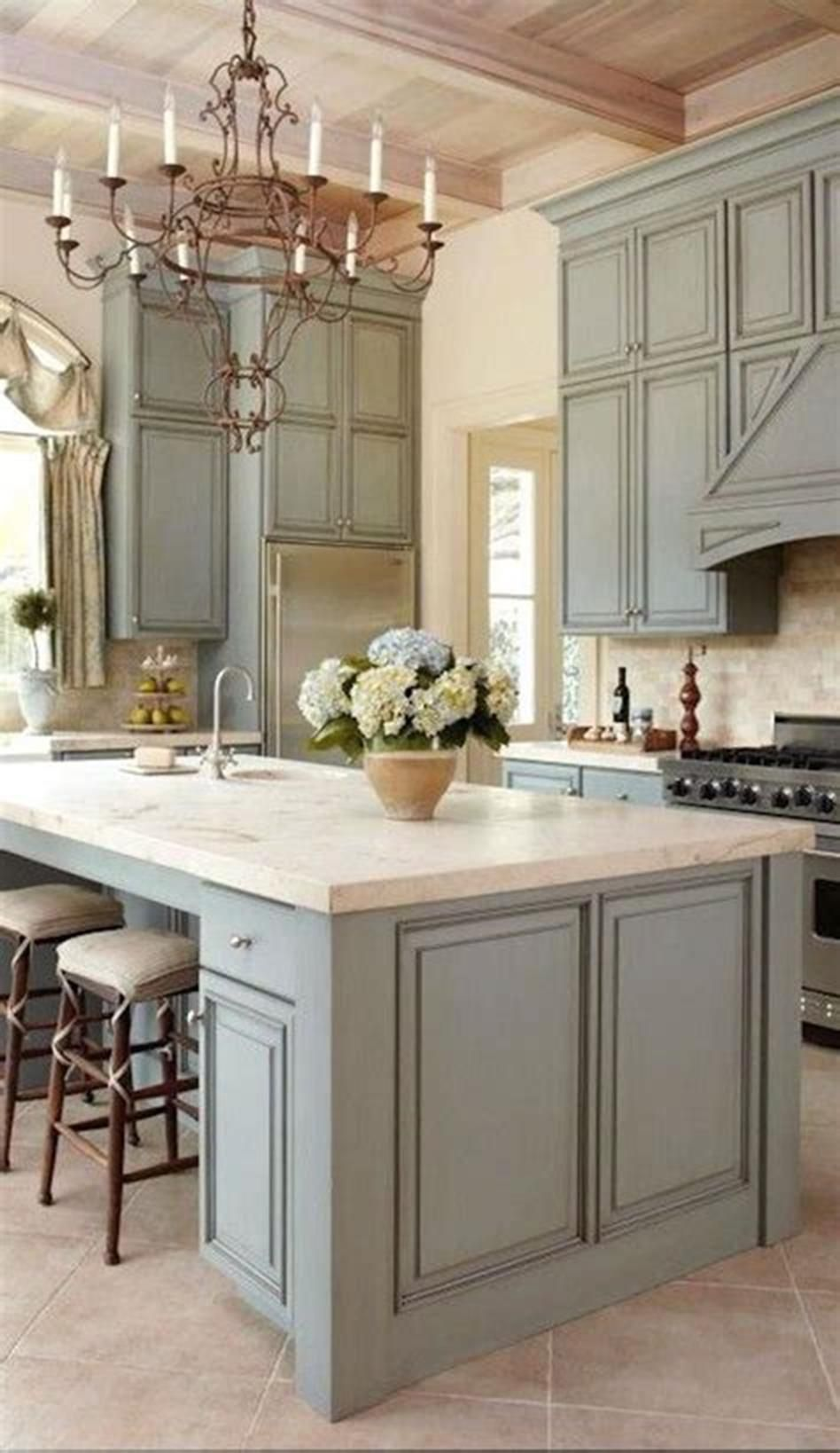 46 Most Popular Kitchen Color Schemes Trends 2019 Blue