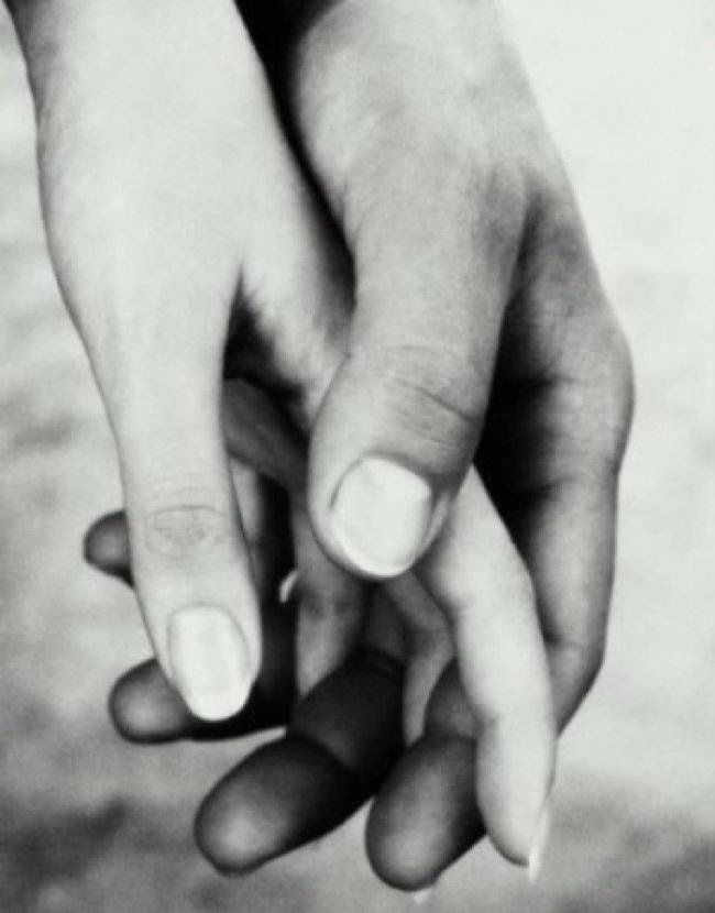 The Hand Of Friendship Has No Color