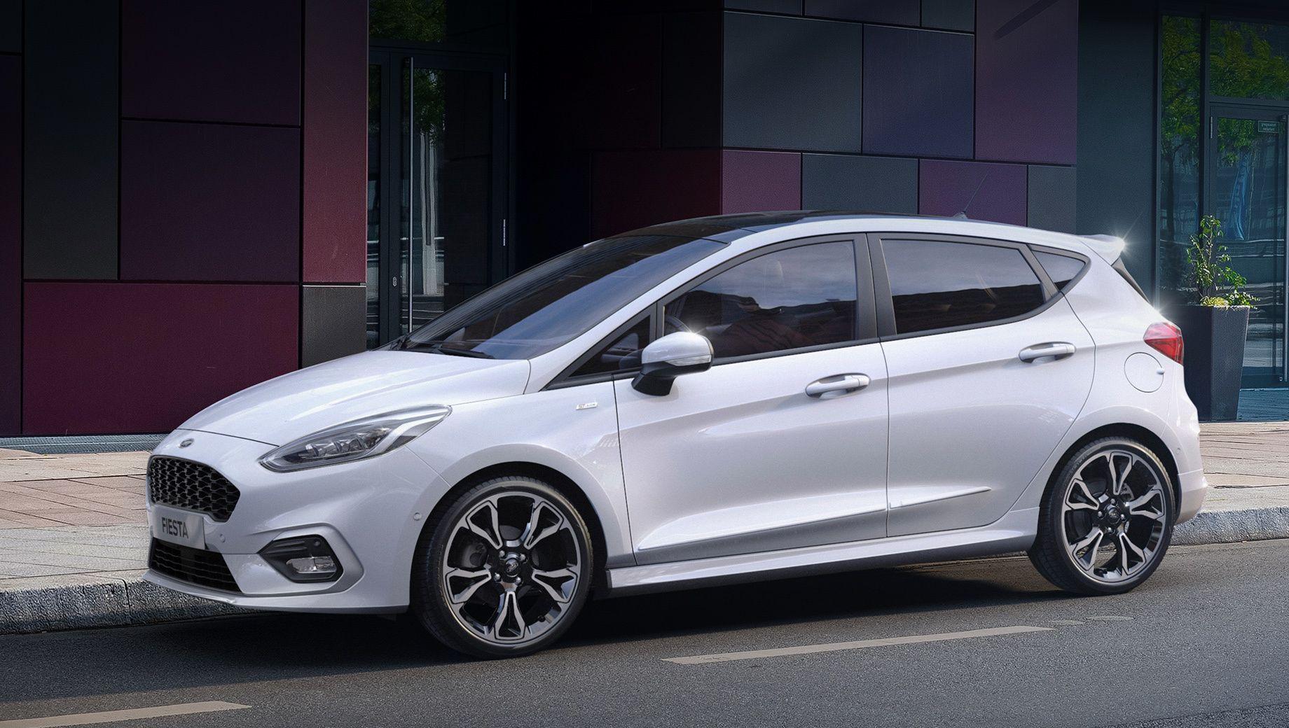 Модель Ford Fiesta впервые электрифицирована ДРАЙВ Ford Ford Fiesta Autos