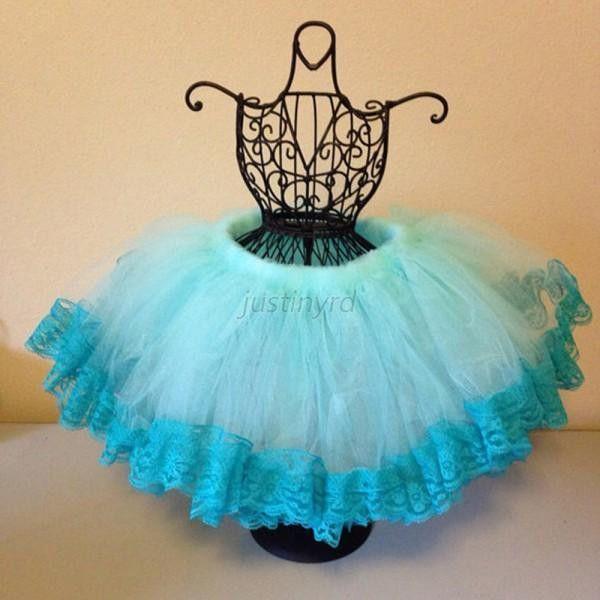 2-8Y Children Baby Girls Multilayer Tulle Party Dance Skirt Cake Tutu Skirt