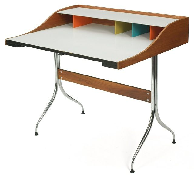 george nelson for herman miller swag leg desk circa 1958 - Herman Miller Schreibtisch Veranstalter
