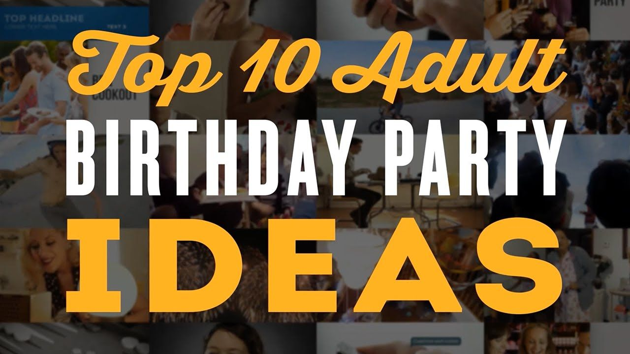 adult 60th birthday party ideas