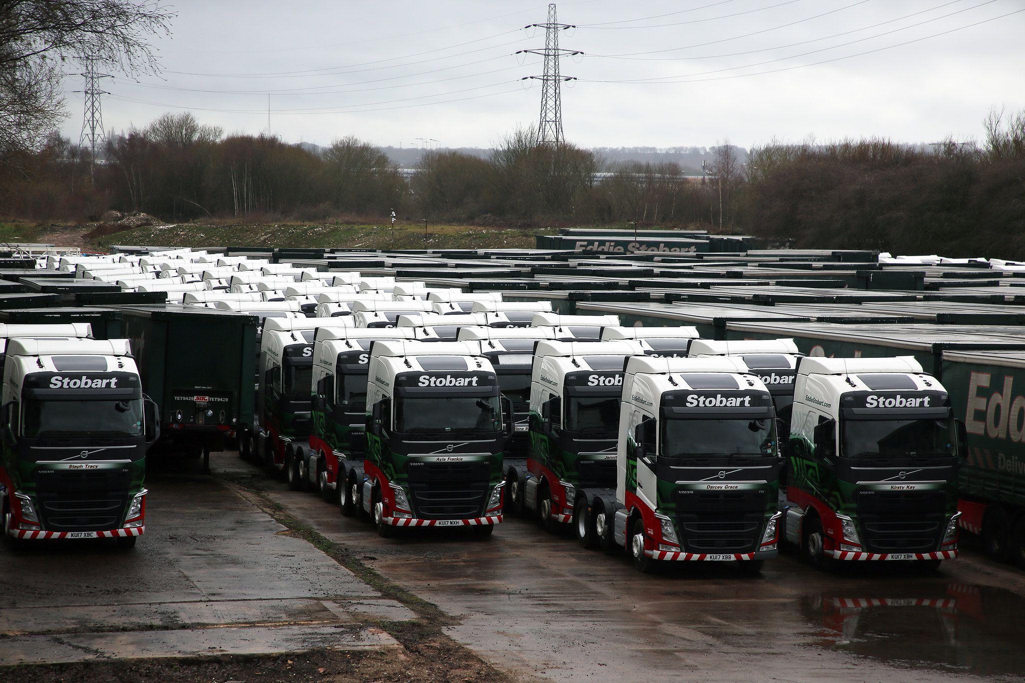 Volvo Stored Ws Storage Stoke 26 1 19 Eddie Stobart Trucks Volvo Big Trucks