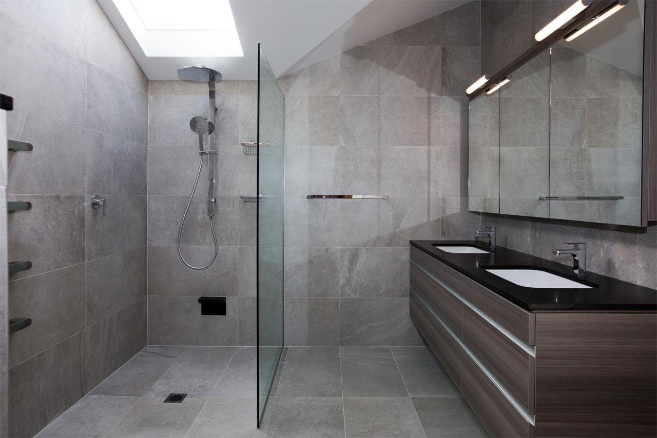 Tracks Grey bathroom #bathroom #tiles   Bathroom   Pinterest   Grey ...