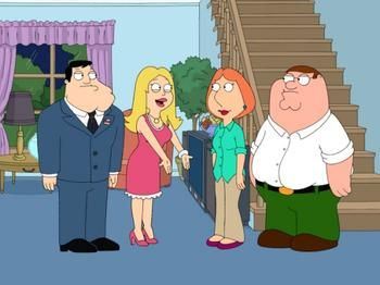 American Dad Vs Family Guy Tv Show Family Family Guy Full