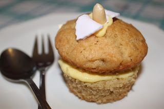 Cupcakes de mantequilla de cacahuete Peanut butter cupcakes