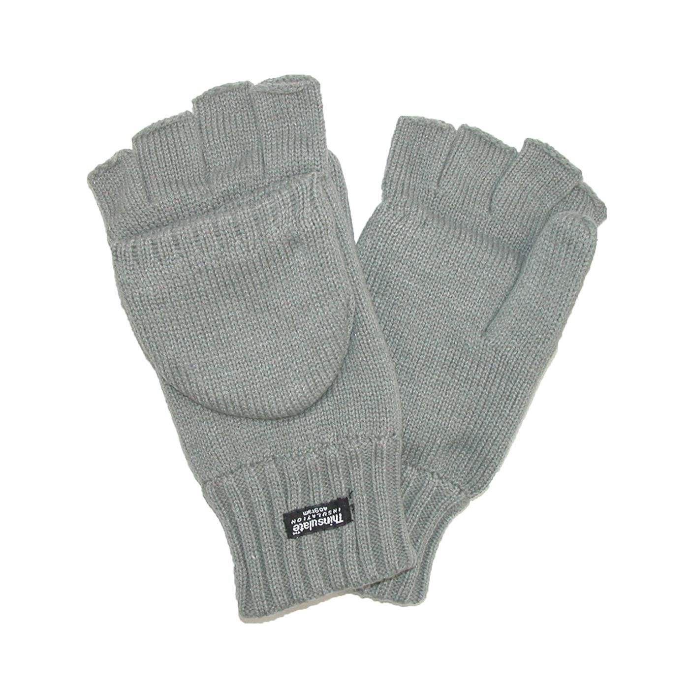 Mens fleece gloves xxl - Warm Knit Gloves Are Lined With Soft Fleece And Thinsulate Insulation For Warmth Without The Bulk