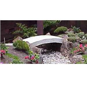 Japanese Garden Granite Stone Bridge