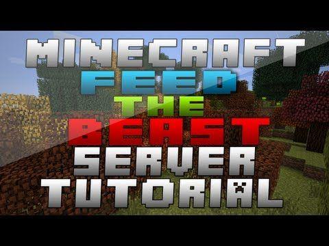 Minecraft Feed The Beast Multiplayer Server FTB MOD Packs - Minecraft lan spielen mit mods