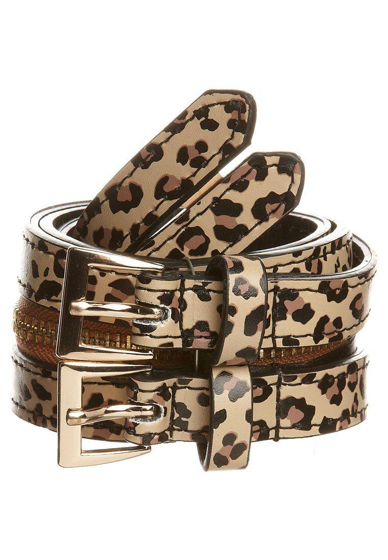 Cinturón - Iron Fist  Zalando ☉ leopardo