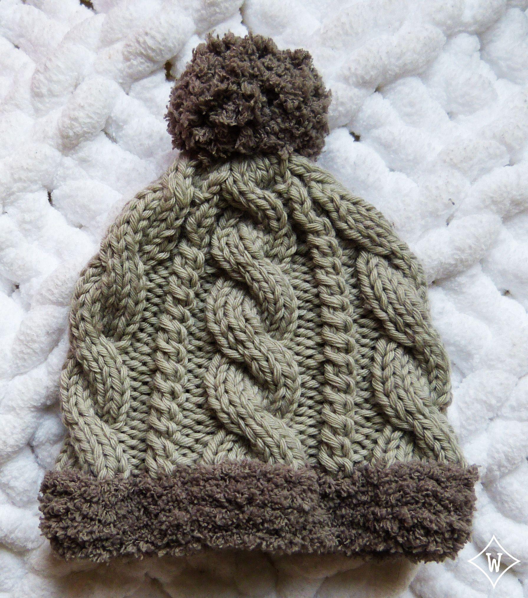 8671f5adf3a1 Bonnet torsades 2 Béret Tricot, Tricot Torsade, Tricot Et Crochet, Bonnet  Bébé,