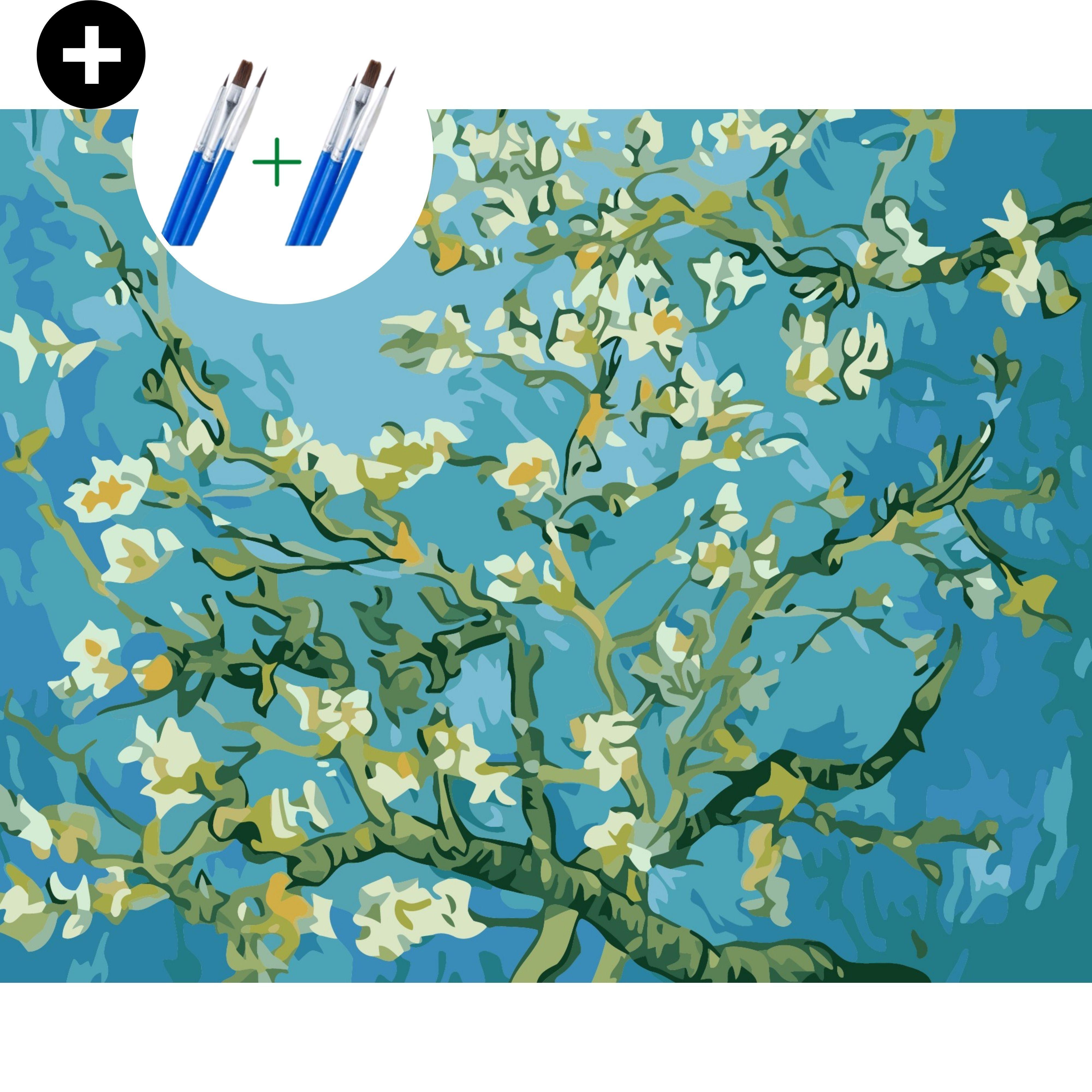 Deeds Schilderen Op Nummer Volwassenen Paint By Number Verven Op Nummer Monet Schilderijen Schilder Bloemen