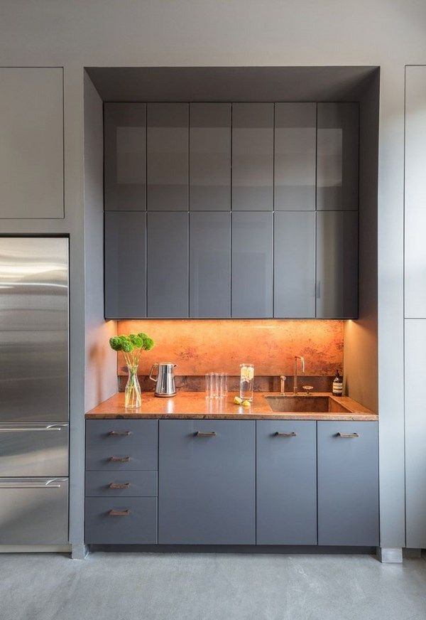 what is kitchenette mini kitchen design ideas with gray cabinets ...