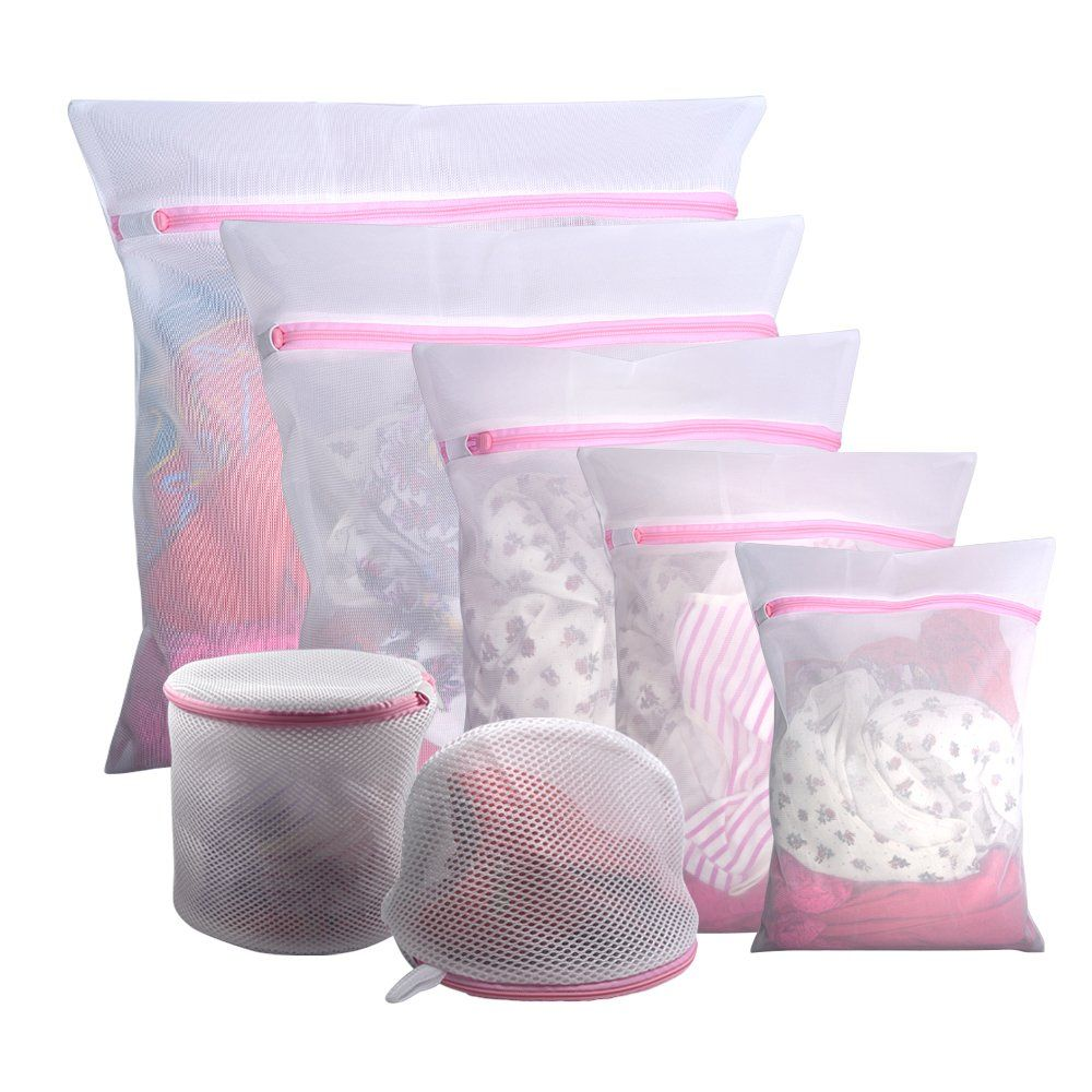 Gogooda 7pcs Mesh Laundry Bags For Delicates With Premium Zipper