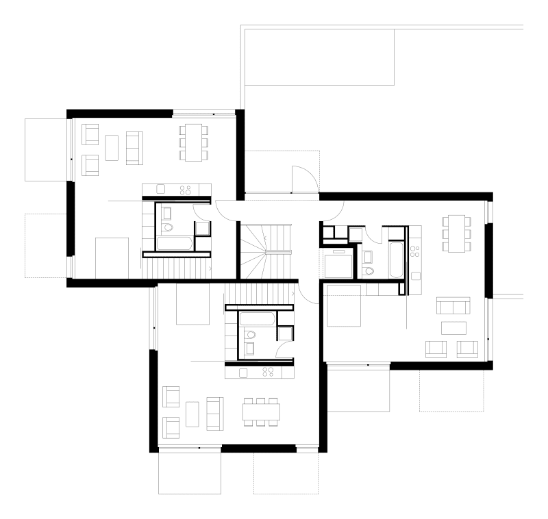 al30 architectes Joël Tettamanti · residential building in Morges