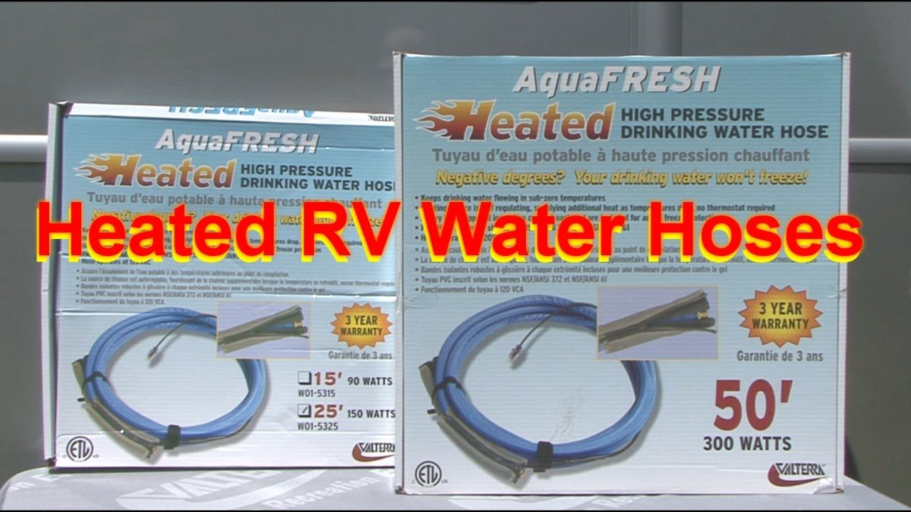 Heated rv water hosesgreat product water hose