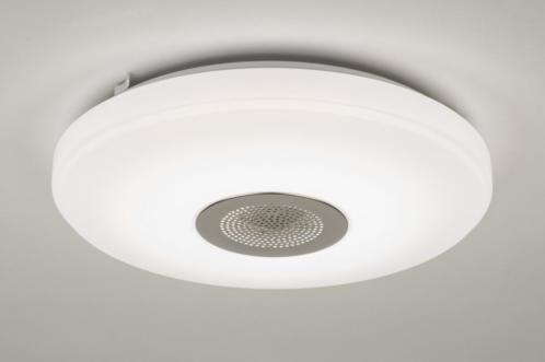 Ingebouwd led plafondlamp voorzien van zowel een ingebouwde