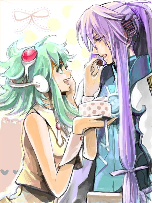 Image result for gumi and gakupo