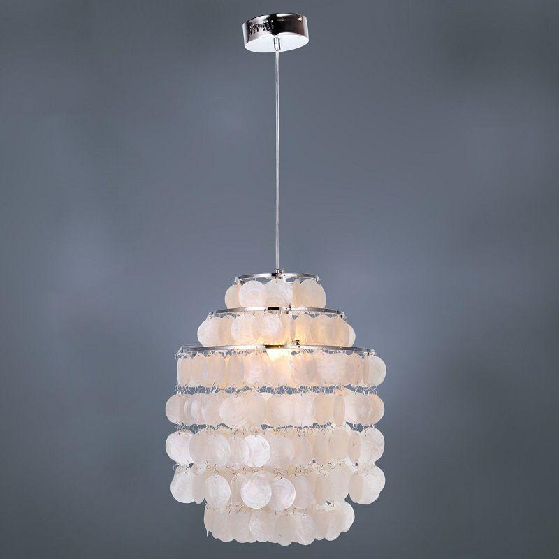 Lightinthebox Modern White Shell Pendant Chandelier Mini Style