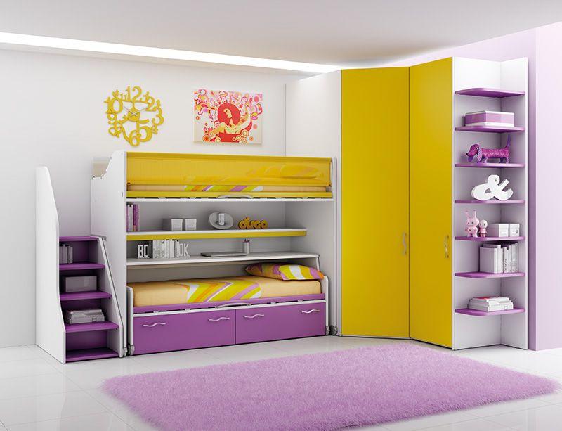 Ima Camerette ~ 29 best arredamento giallo images on pinterest compact bunk beds
