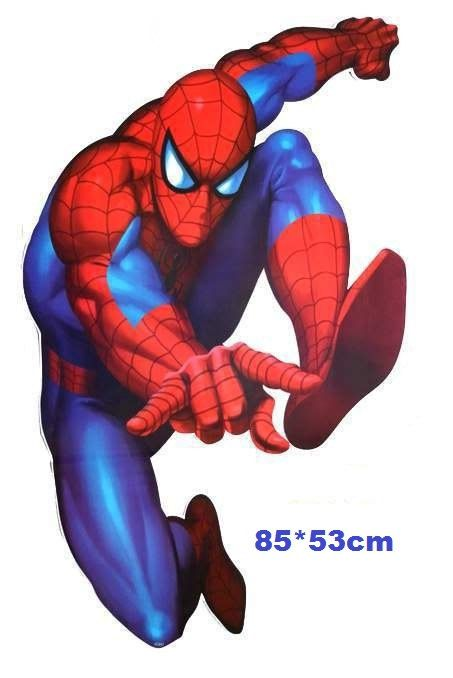 Hey, I found this really awesome Etsy listing at https://www.etsy.com/listing/182786495/giant-wall-stickers-spiderman-avangers