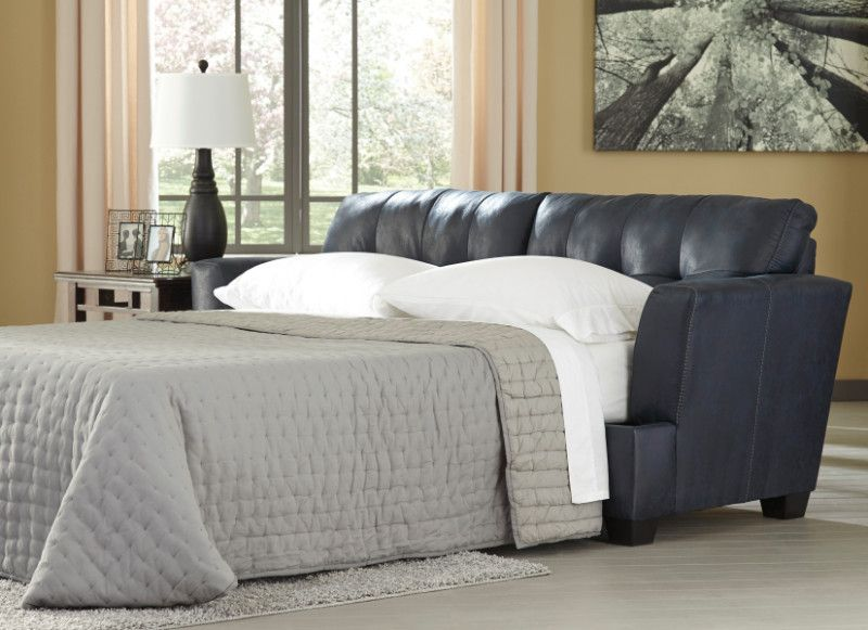 ashley furniture 65806 39 inmon collection navy faux leather rh pinterest com