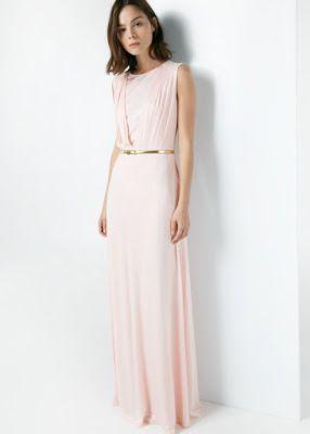abbfc871a somos-moda  Vestidos largos juveniles sencillos 15 Bellos.