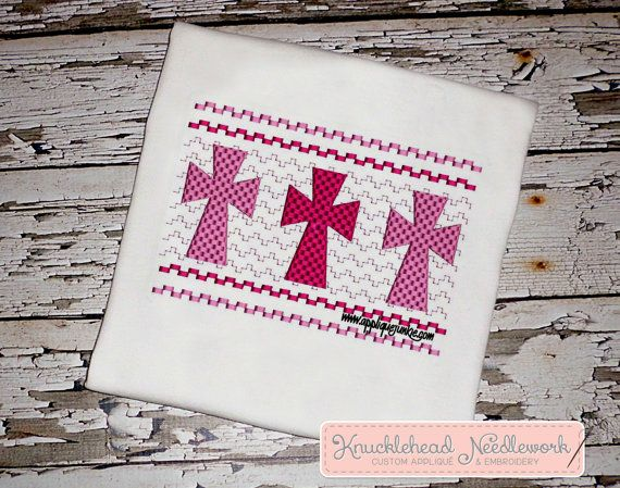 Cross Shirt with Personalization  SAMPLE by KnuckleheadNeedlewrk, $20.00