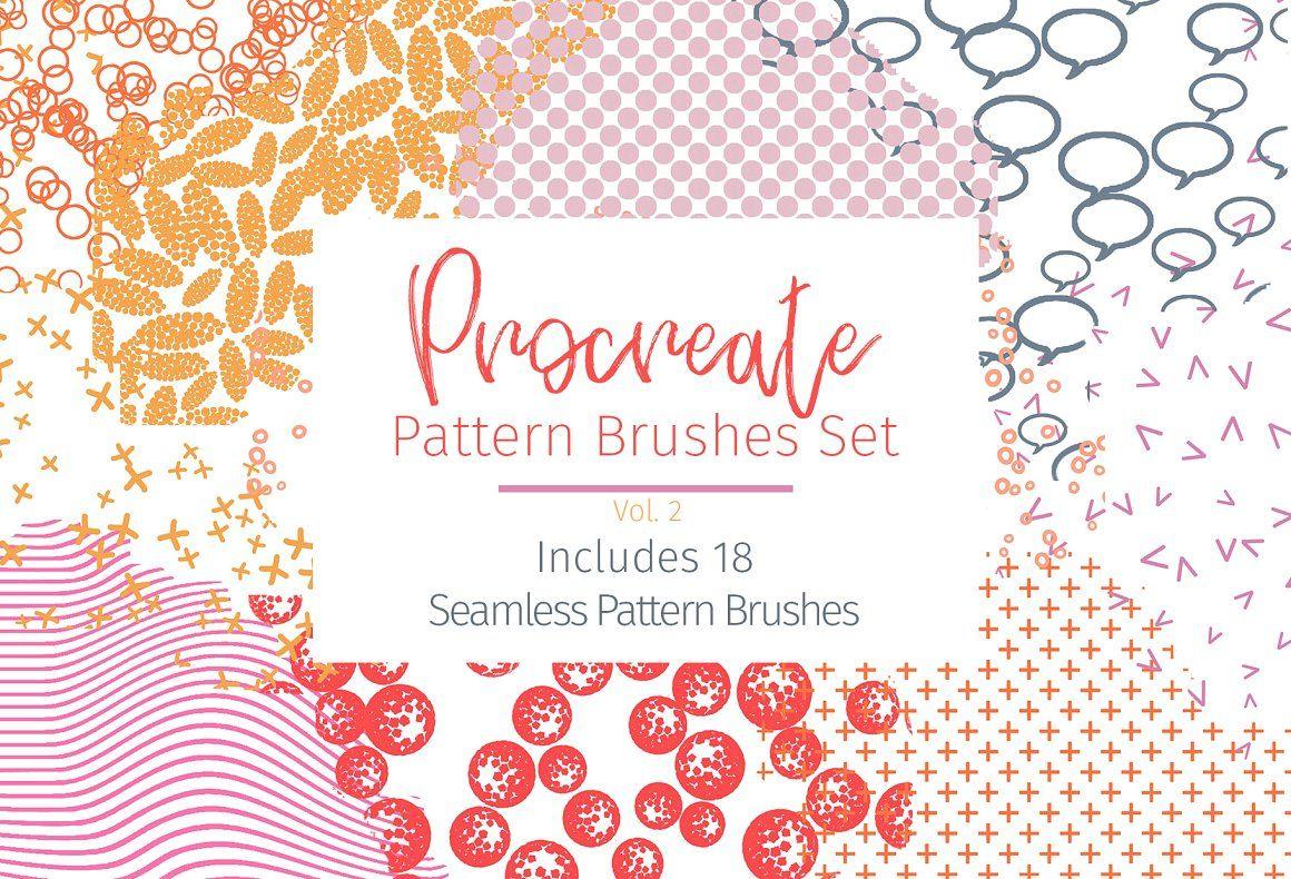 Procreate Seamless Pattern Brushes Brushes Procreate