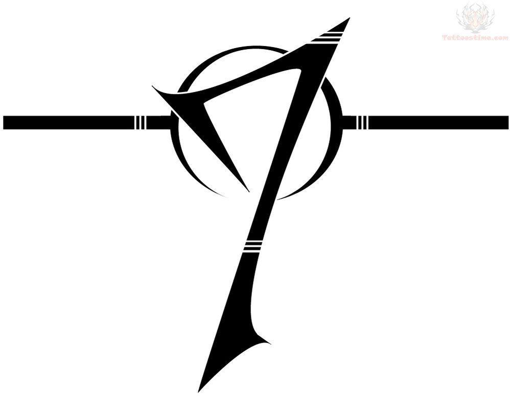 Number Seven Tattoo Design Number Tattoos Tattoo Designs 7 Tattoo