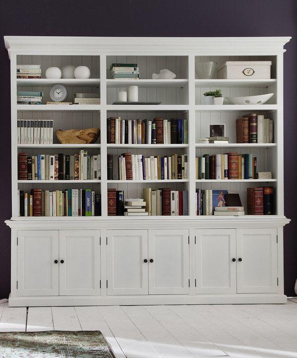 Boho Office Shelves