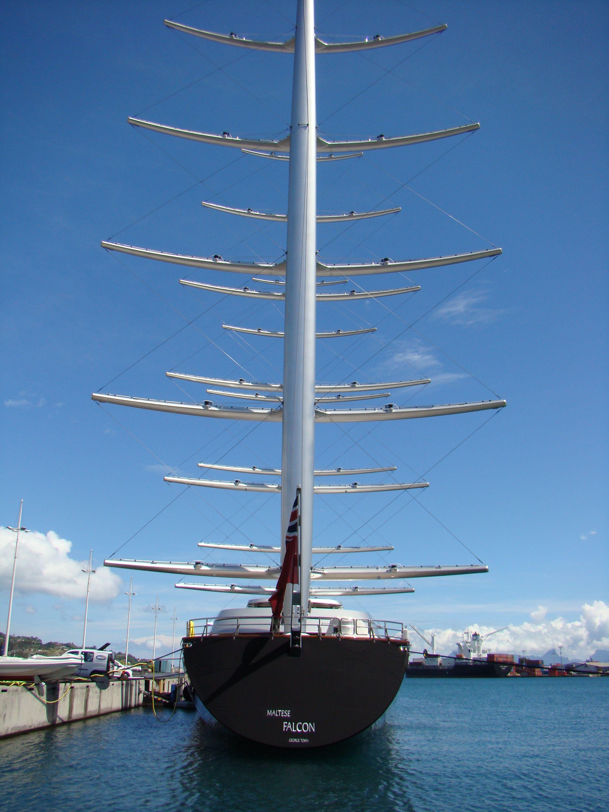 Yacht Maltese Falcon Sailing Yacht Boats Luxury Yacht Boat