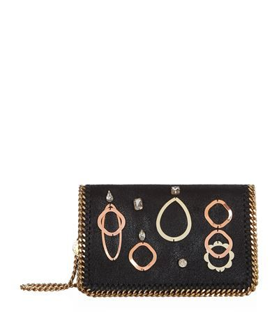 Stella McCartney Embellished Falabella Clutch #ClutchLife  #GiftResponsibly #GlamGifting